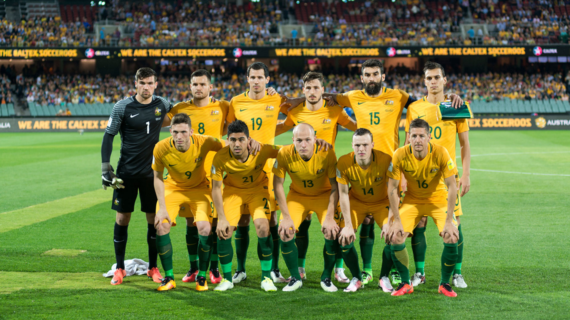 Socceroos at Adelaide Oval