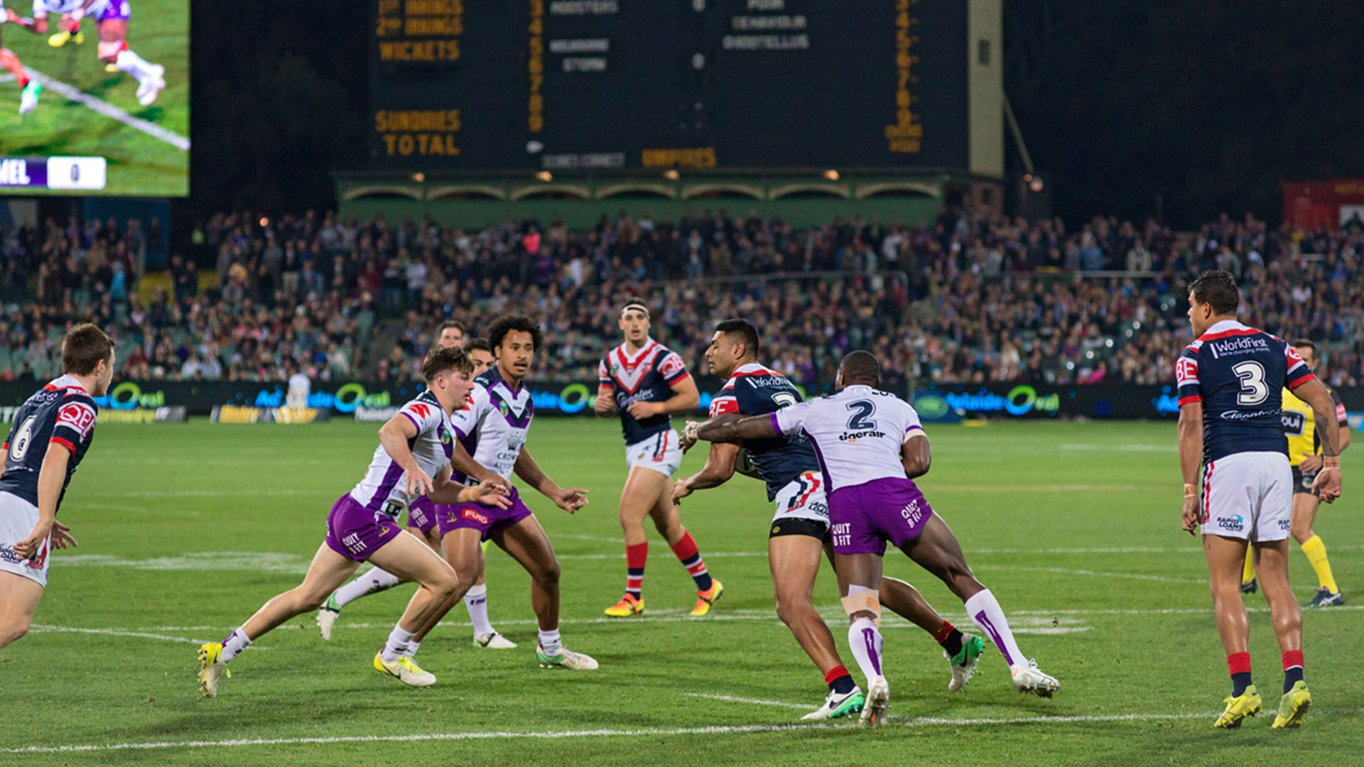 NRL Match at Adelaide Oval