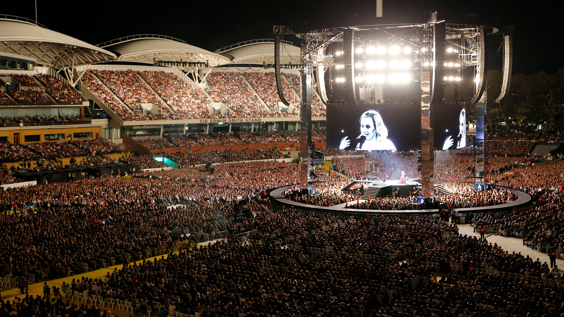 Adelaide Oval Adele Concert
