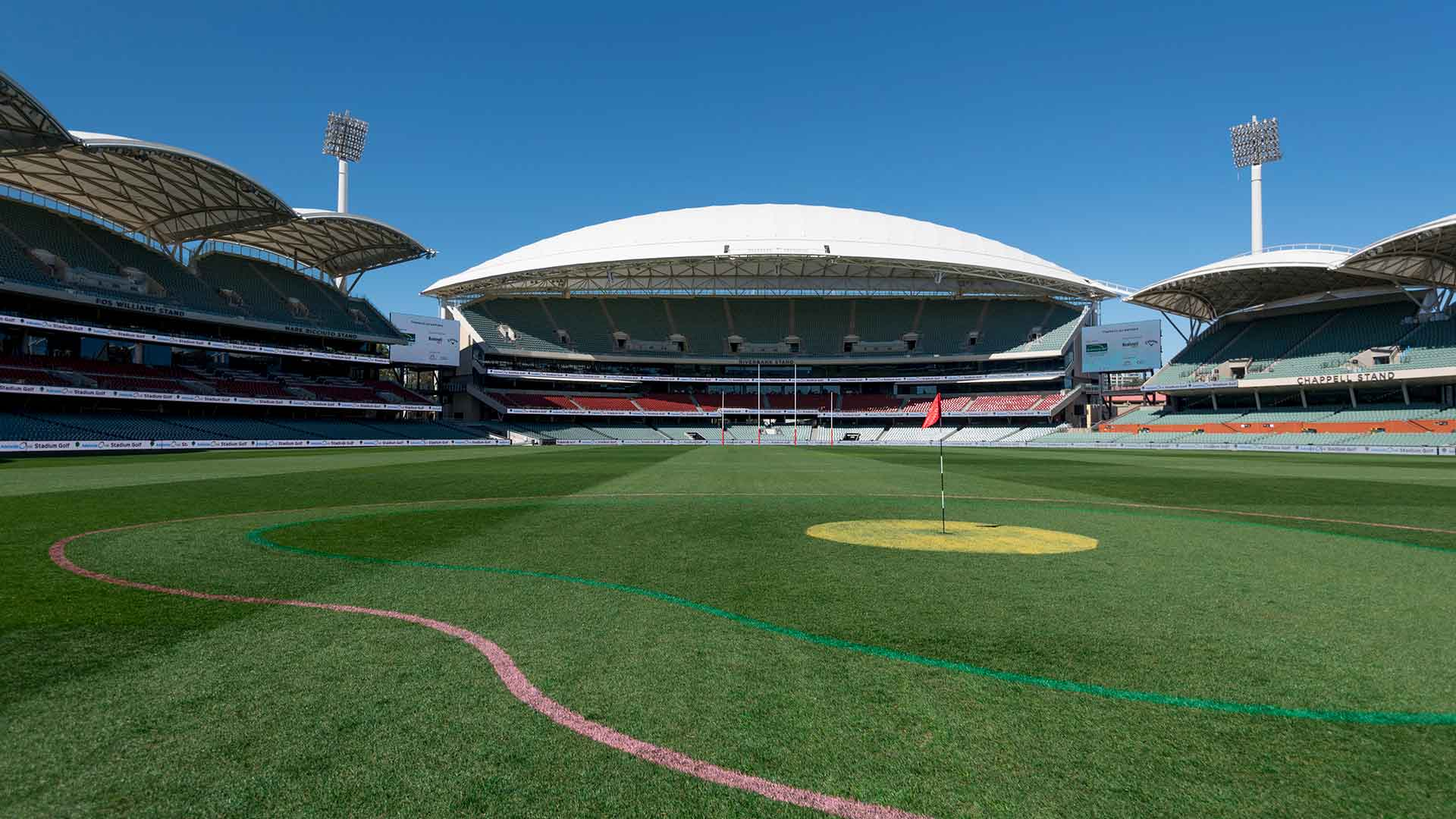 Adelaide Oval tees off with Stadium Golf