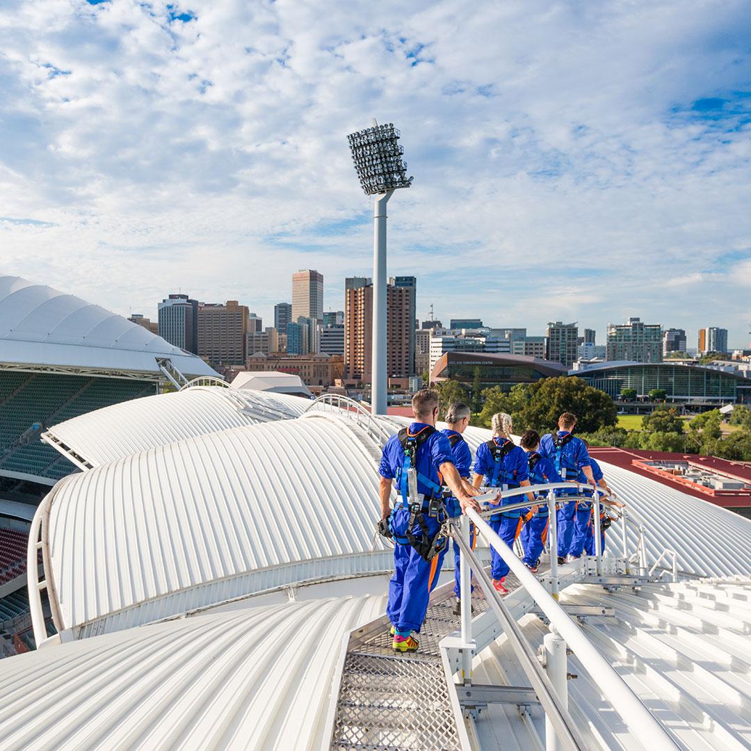 Discover RoofClimb Adelaide Ova