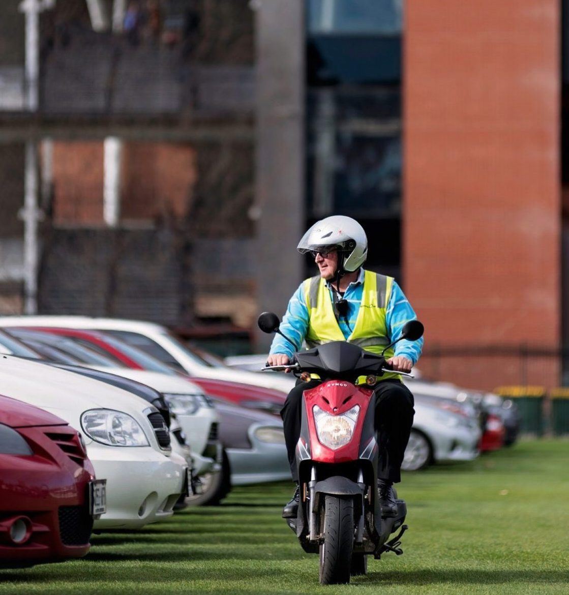 Adelaide Oval Car Parking Attendant