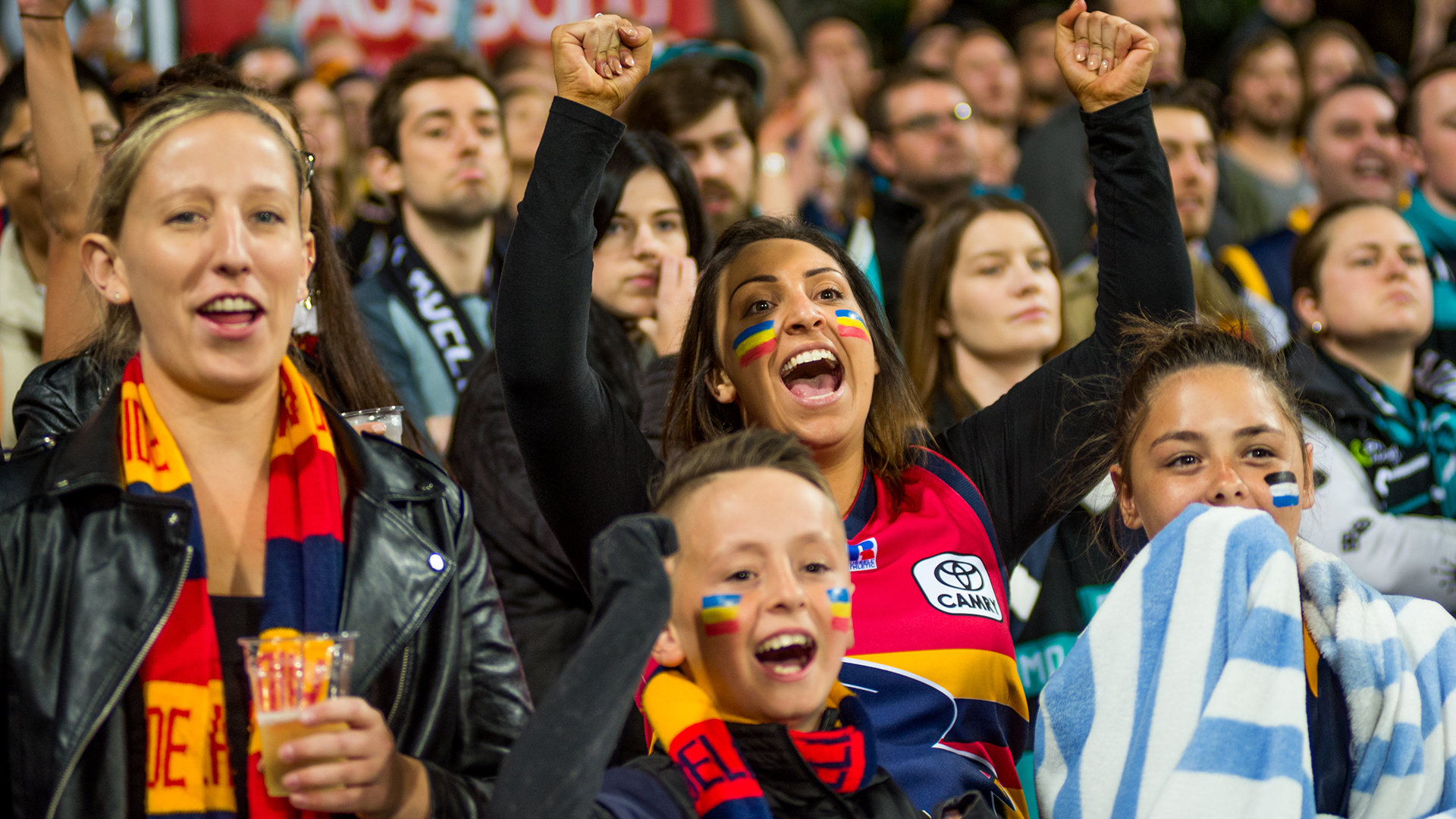 Get Behind the Crows at Adelaide Oval