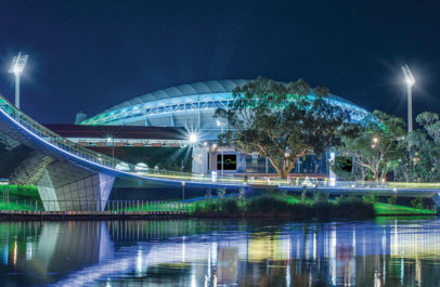 Adelaide Oval on the River Torrens
