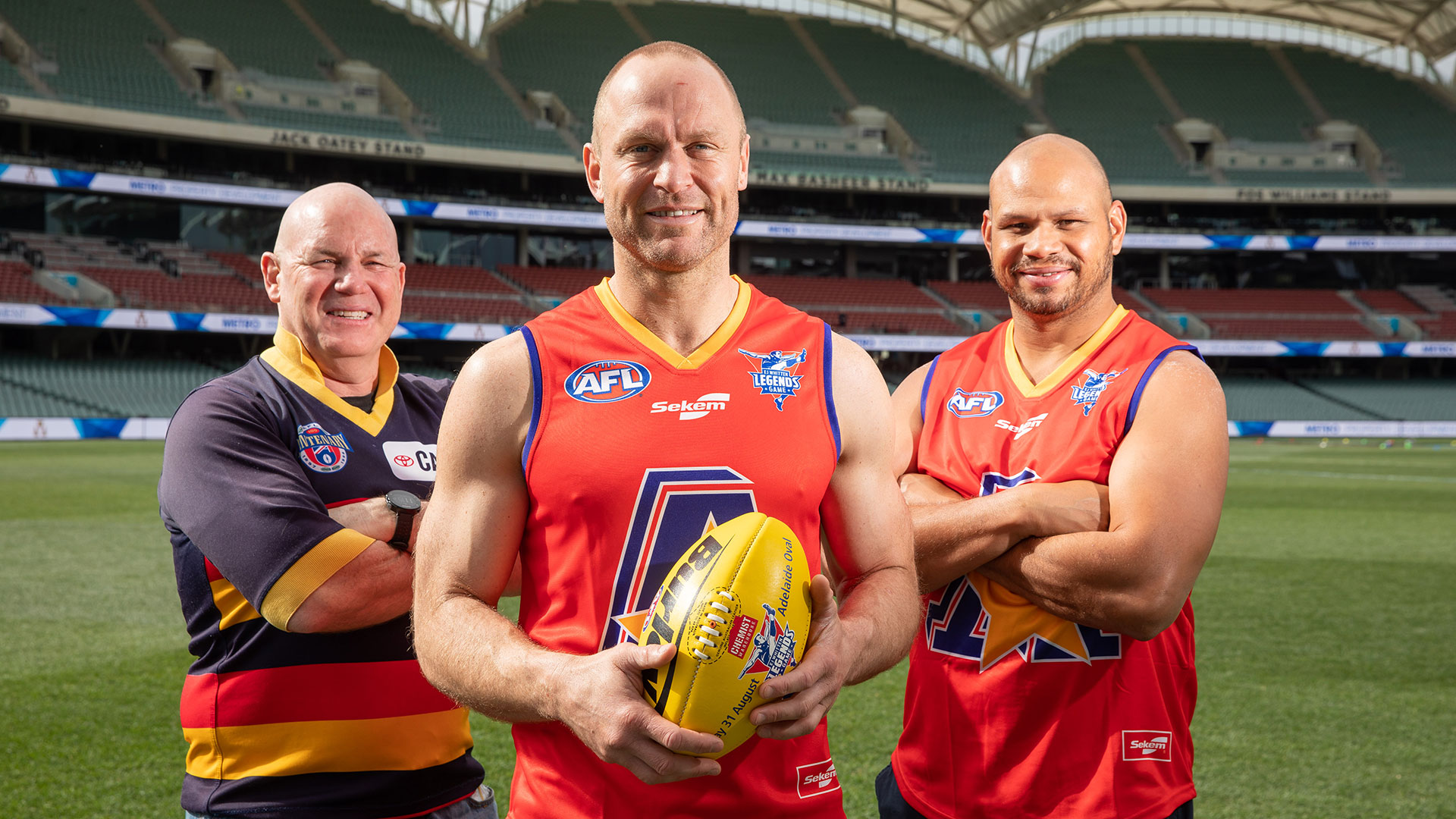 Squads released for the EJ Whitten Legends Game