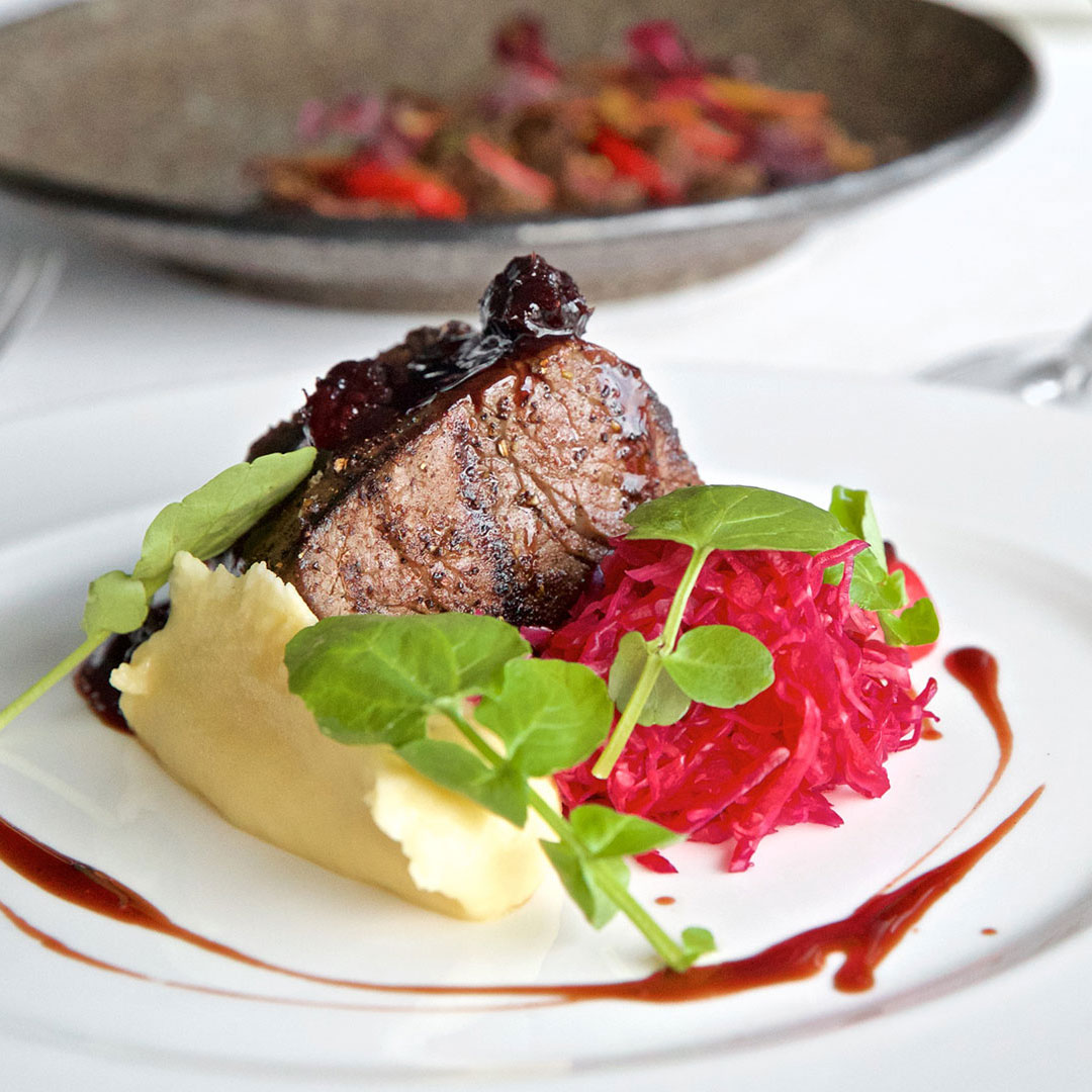 Hill of Grace Restaurant Beef Dish