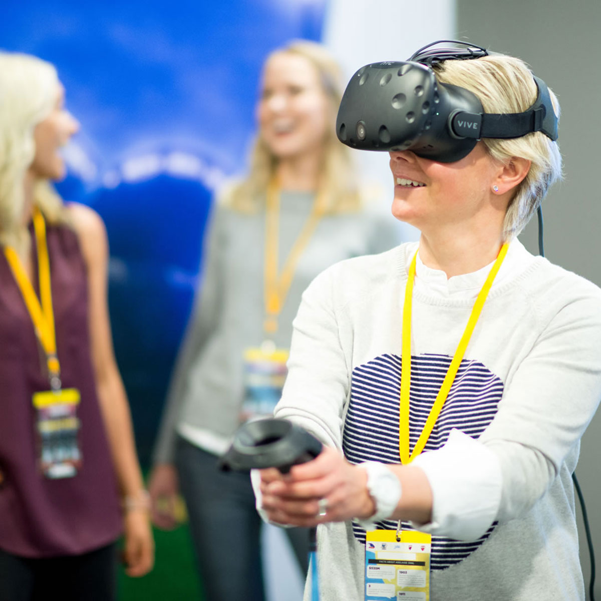 Playing-virtual-reality-cricket-at-Adelaide-Oval