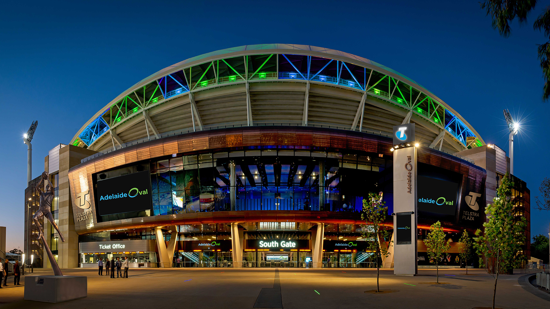 Adelaide Oval statement on lifting of crowd capacity