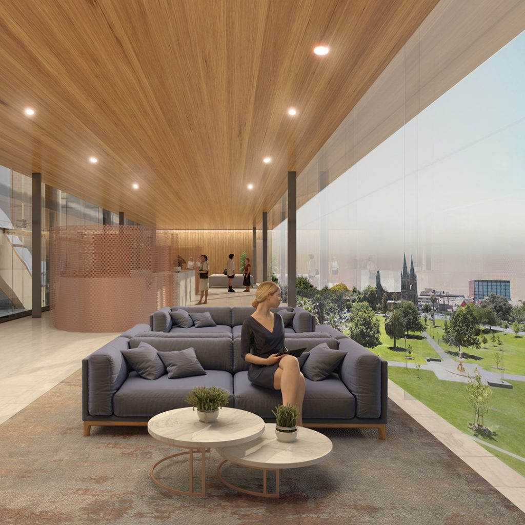 Adelaide Oval Hotel Reception
