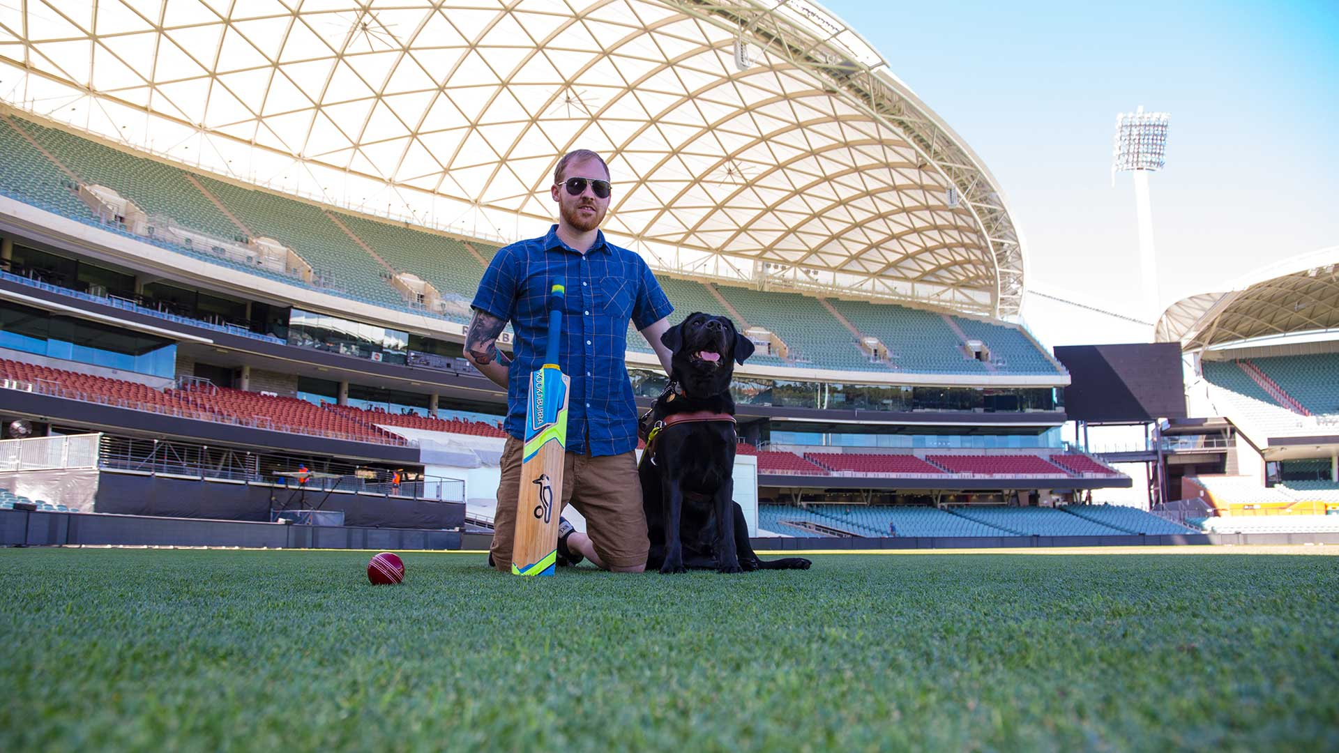 Adelaide Oval announces new charity partnership with Guide Dogs SA/NT