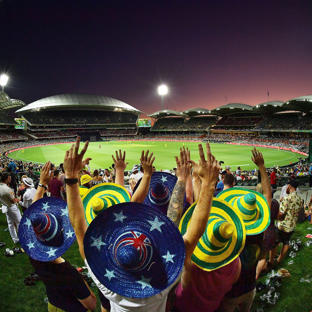 Cricket at Adelaide Oval