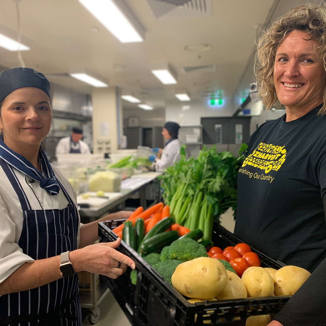 Adelaide Oval and OzHarvest join forces