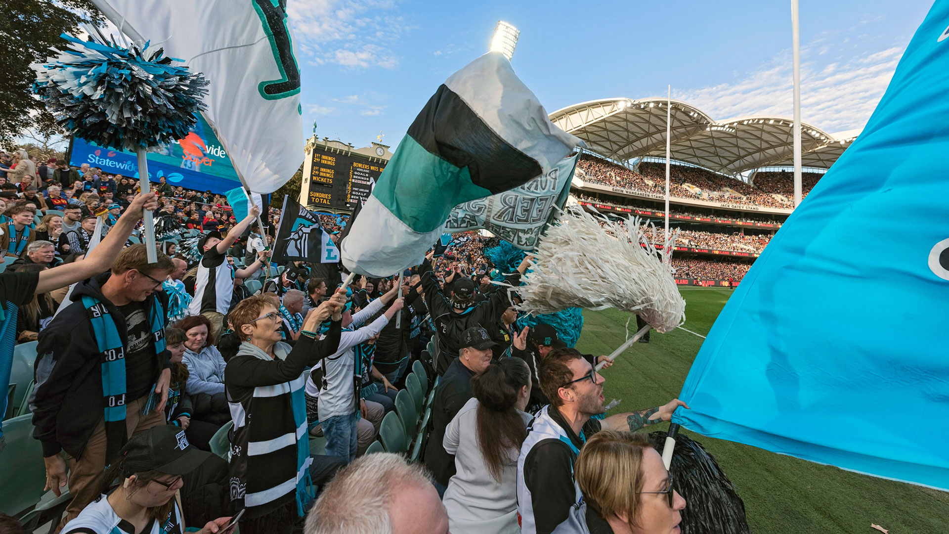 Northern Mound welcomes back crowds for Preliminary Final