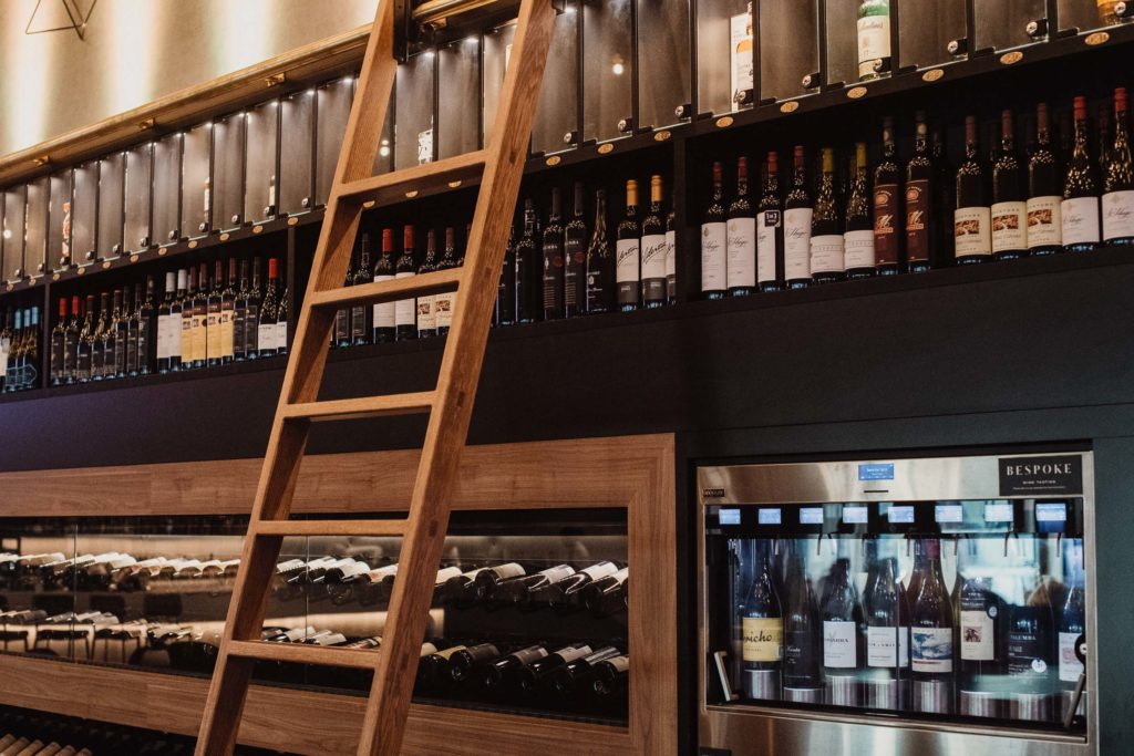 Bespoke Wine Wall